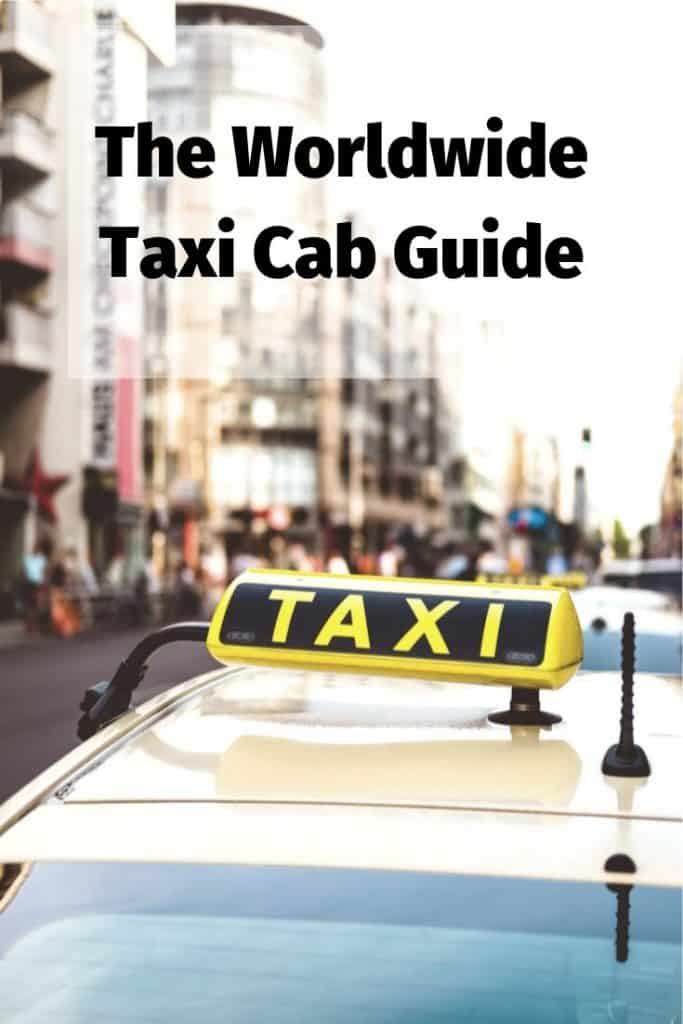 worldwide taxi cab guide