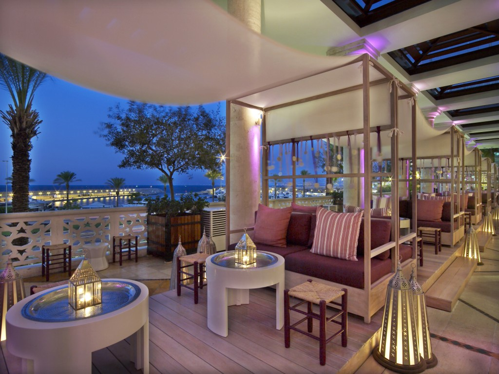 Amethyste Shisha at Phoenicia Hotel Beirut Lebanon