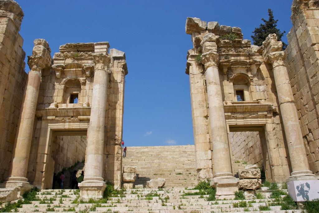 Jerash, jordan, roman ruins in Jerash