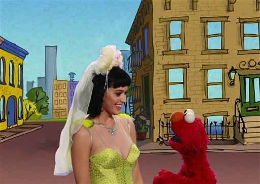 katy perry elmo sexy wedding dress