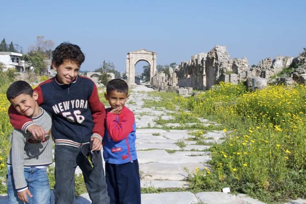 kids on roman road tyre lebanon