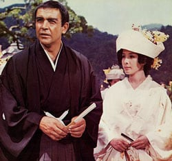 sean connery ninja you only live twice movie