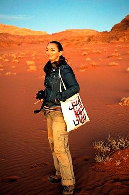 Lara dunston grandtourismo Wadi Rum