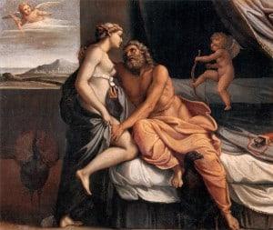 Zeus and Hera greek mythology