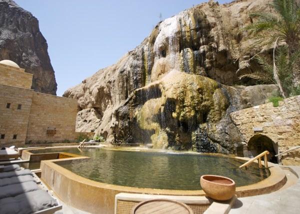 Evason Ma'In Hot Springs Dead Sea Jordan pool