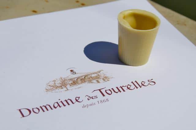 white chocolate cup orange triple sec domaine de tourelles lebanon