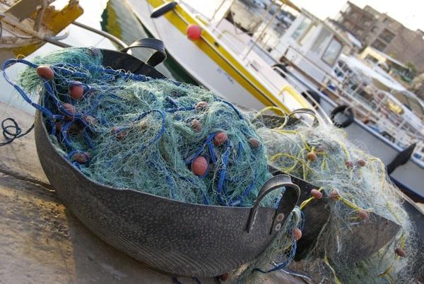 Byblos Fishing Nets in Lebanon