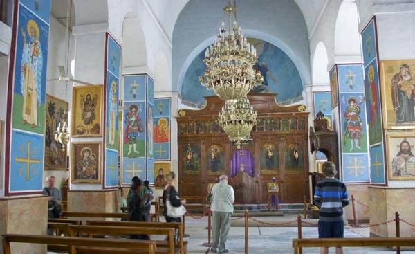 church of the map mosaic Madaba