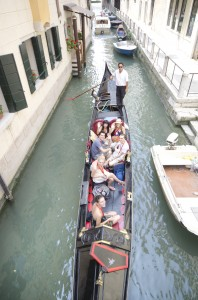 eurail.com venice gondola party 2011