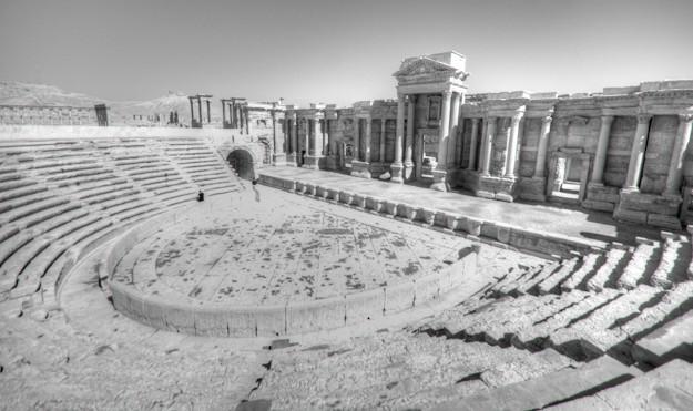 Palmrya theatre ruins