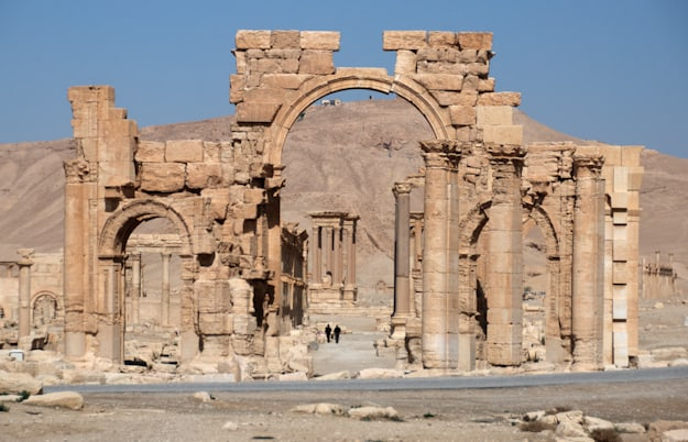 Palmyra entrance arch