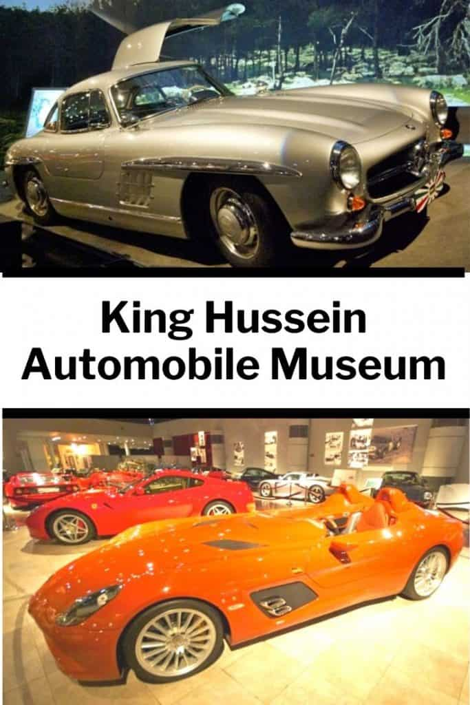 King Hussein Royal Automobile Museum in Jordan
