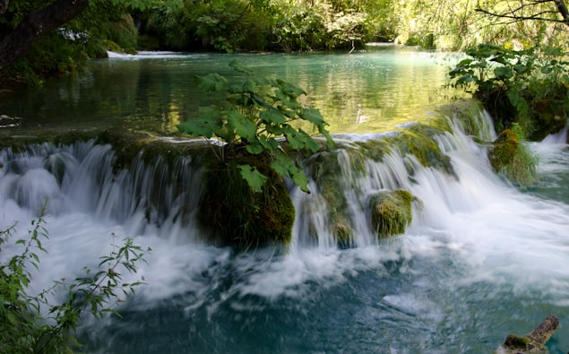 Plivetce National Park waterfalls croatia
