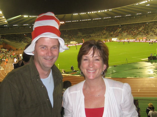 usa belgium soccer game fans funny hats