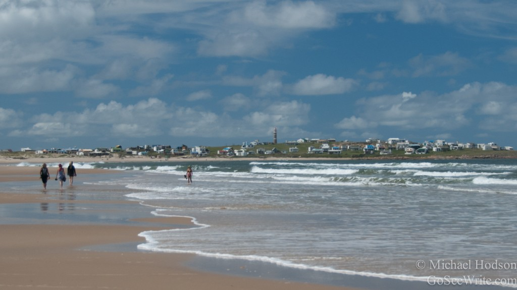 cabo polonio uruguay beach view of town