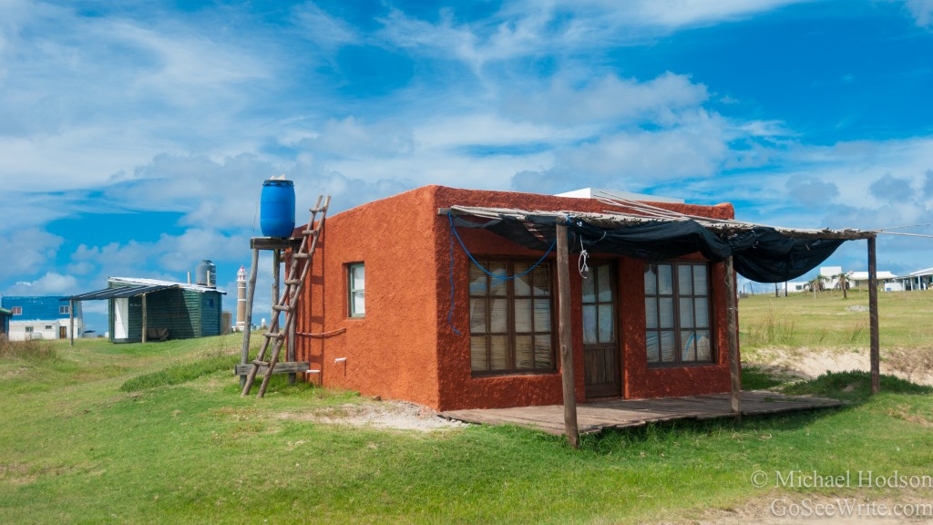 red rental house cabo polonio uruguay