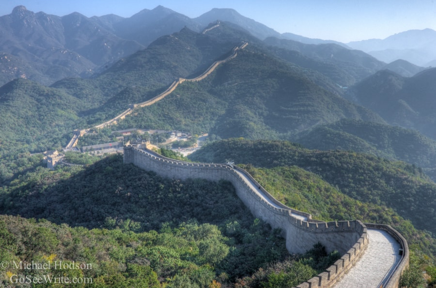 Great Wall of China no people
