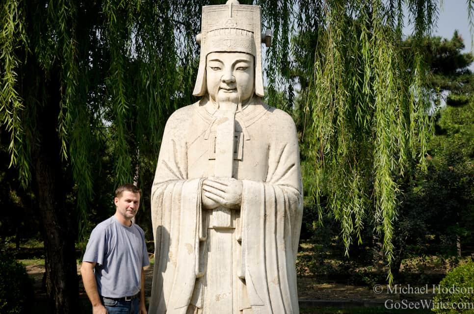 michael hodson at ming's tombs china