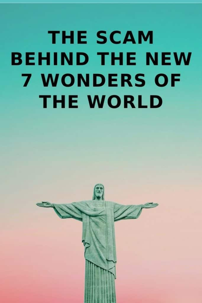 new 7 wonders of the world scam artist