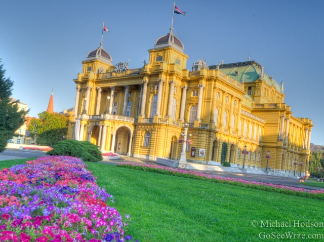 zagreb opera house