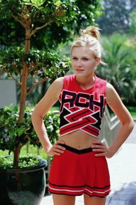 kirsten dunst cheerleader uniform from bring it on movie