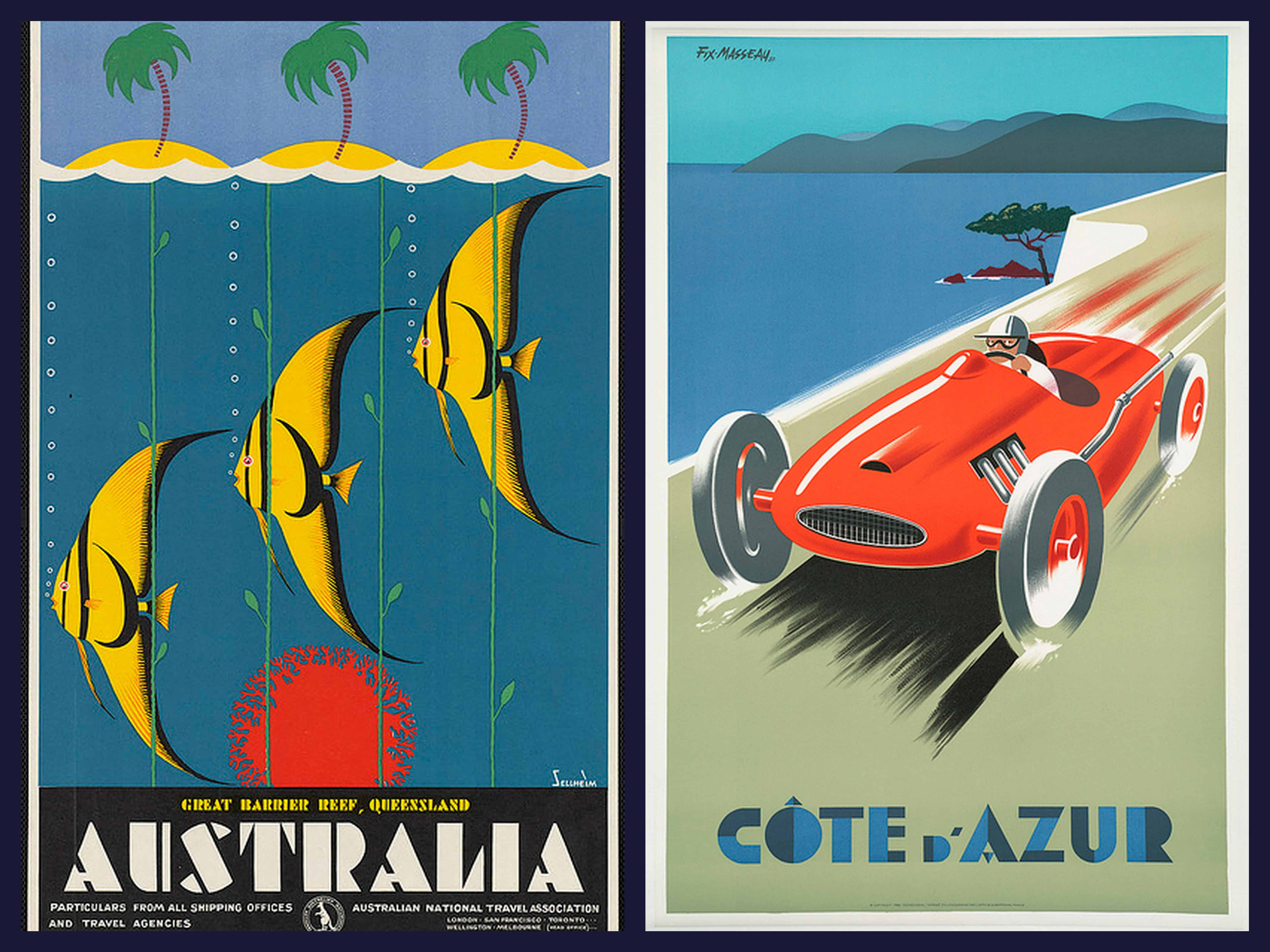 Vintage Travel Posters From The Art Deco Era Interiors Inside Ideas Interiors design about Everything [magnanprojects.com]