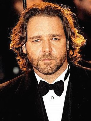russell crowe with long hair