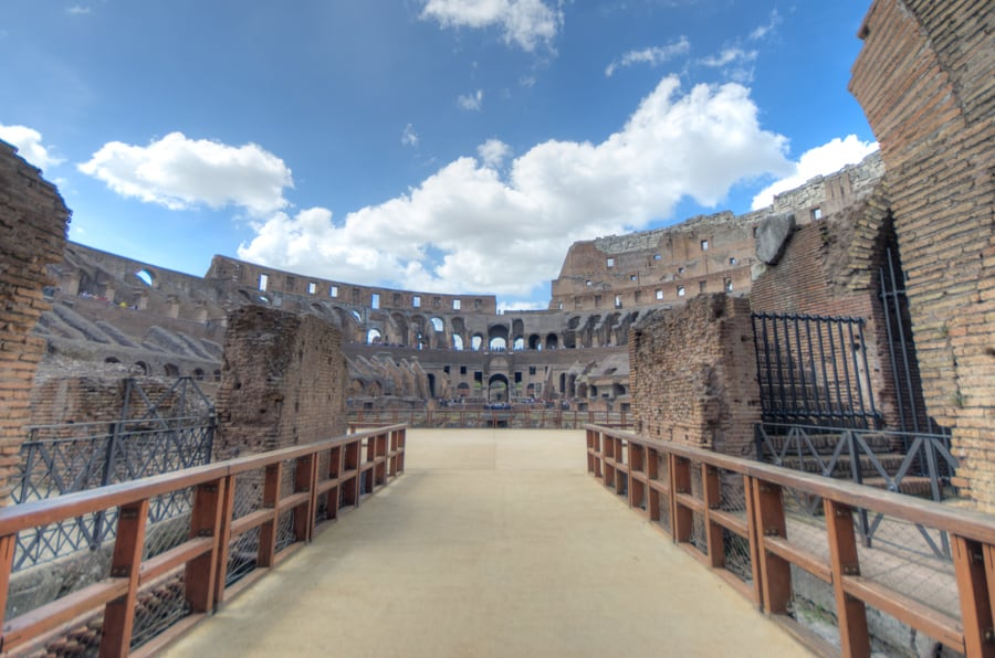 things to see in rome colosseum