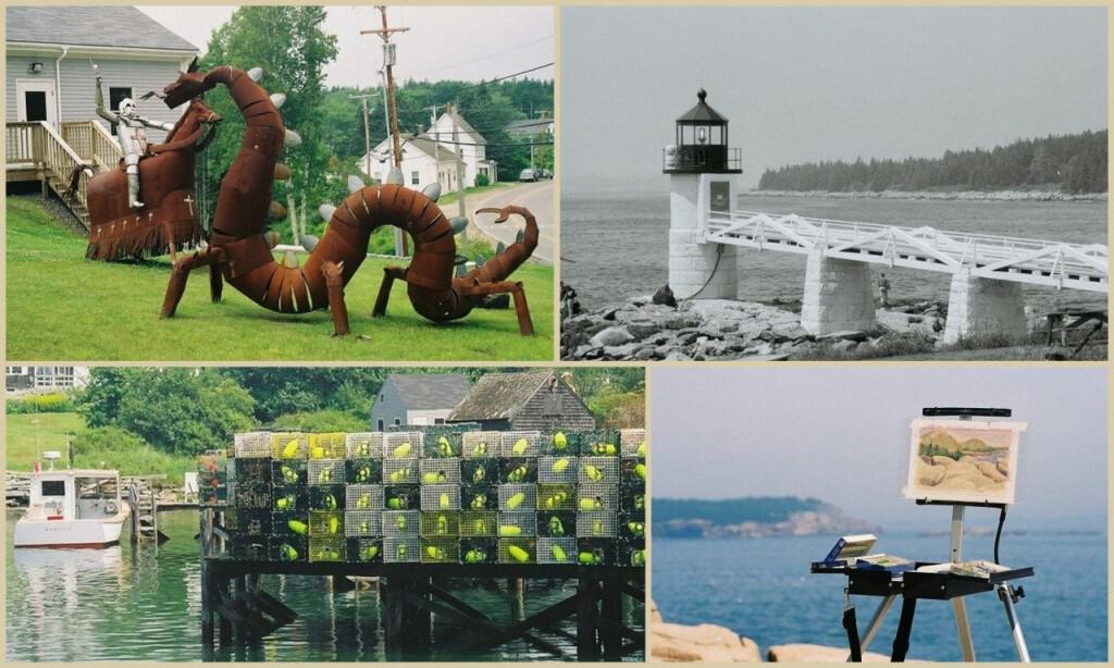 maine collage photo