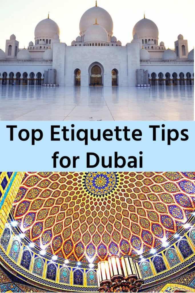 Etiquette Tips Dubai