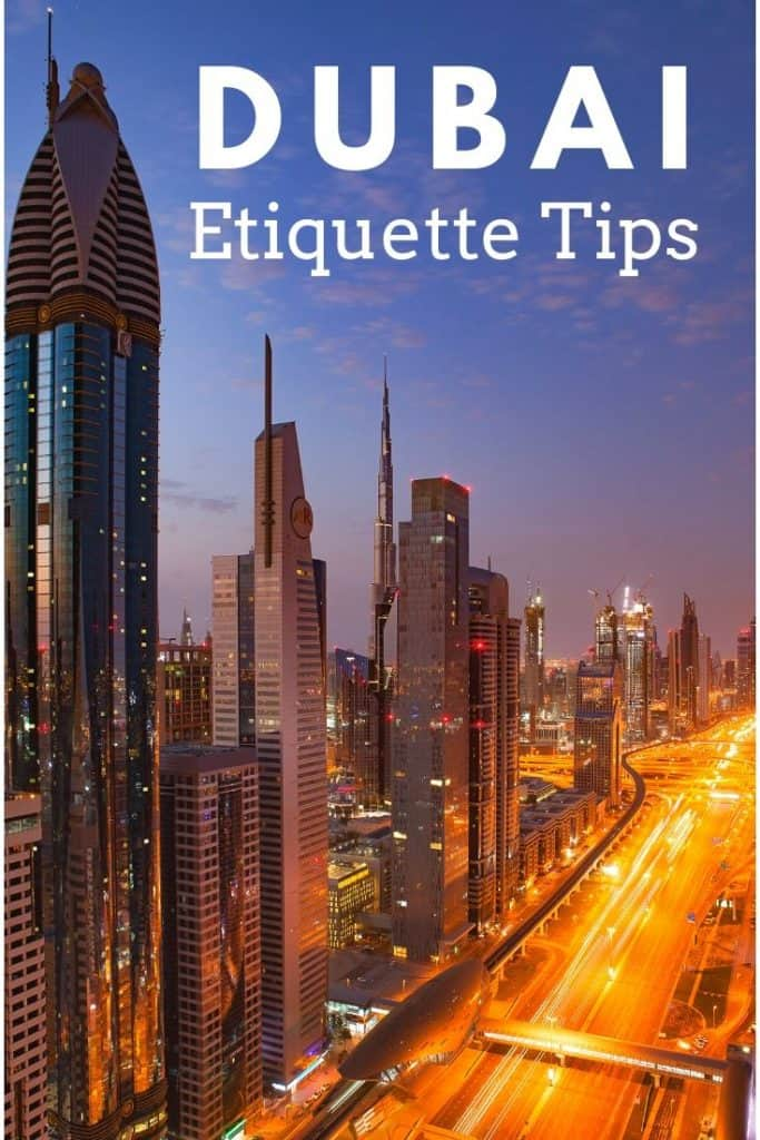 Etiquette Tips for Dubai