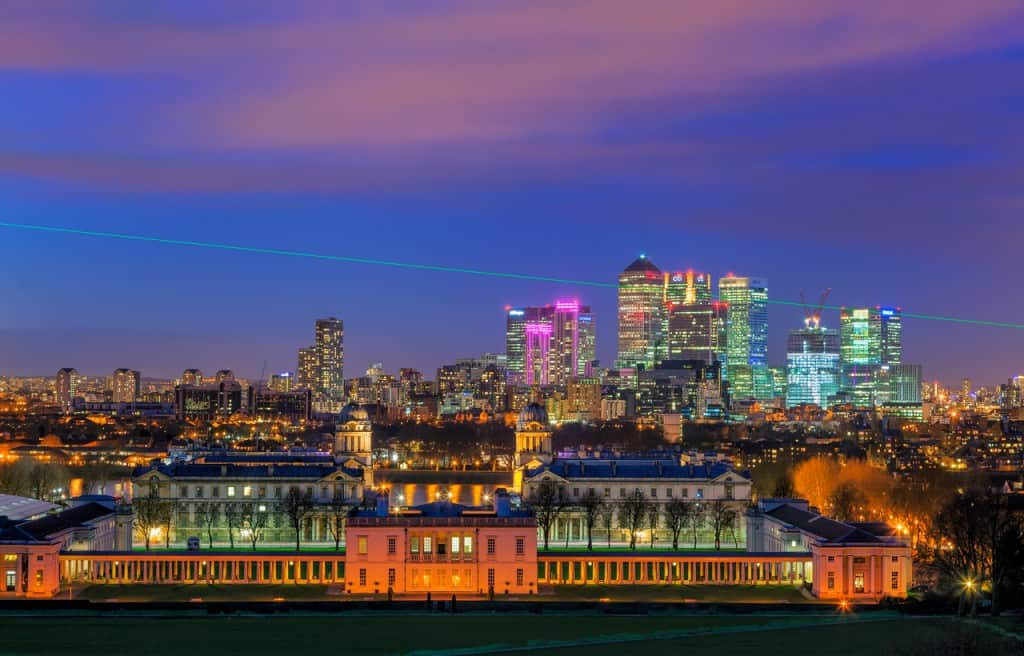 royal observation point in greenwich