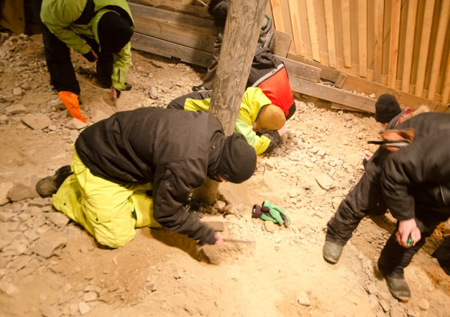 digging amethyst in finland