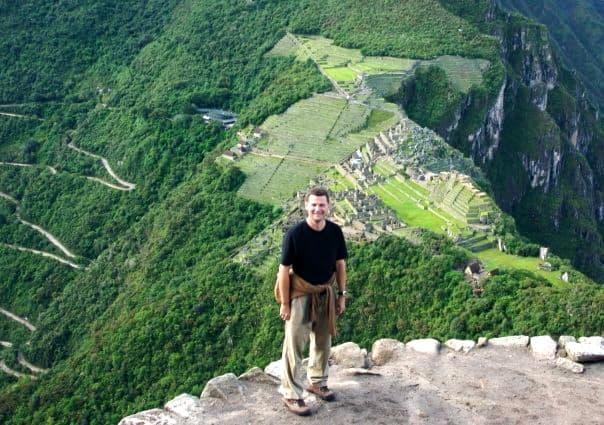 Machu Picchu from waynapichu msh