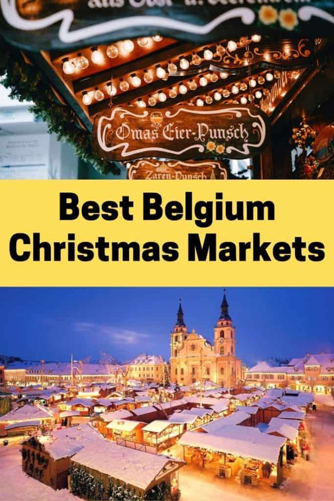 Best Belgium Christmas Markets