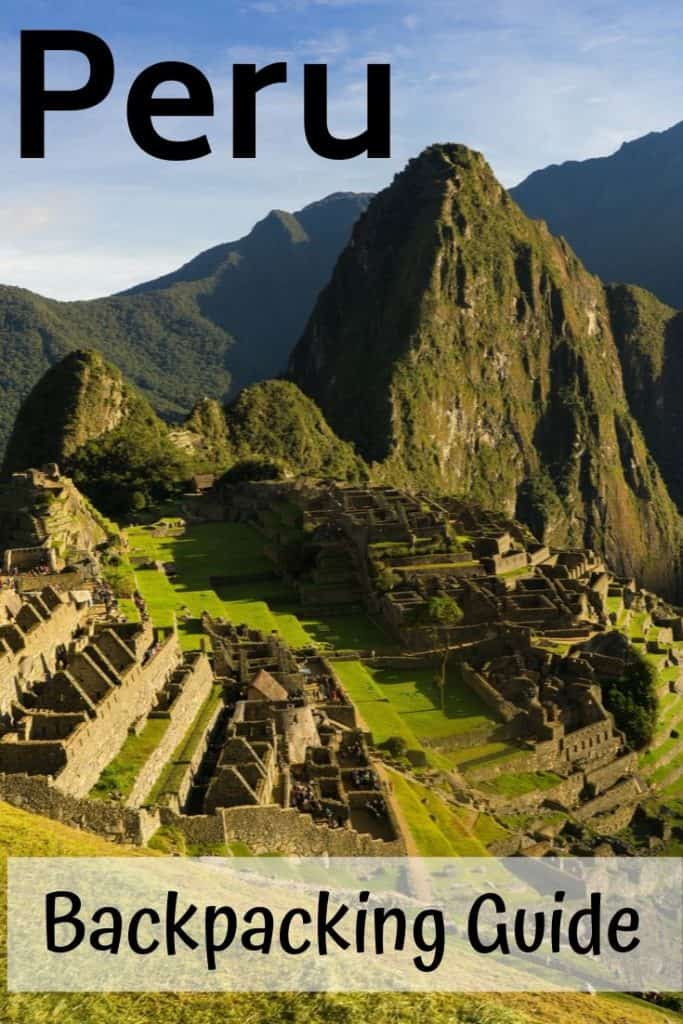 3-week backpacking guide to Peru