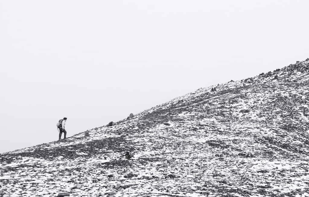 Walking Uphill