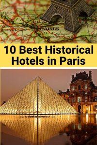 best historical hotels in paris
