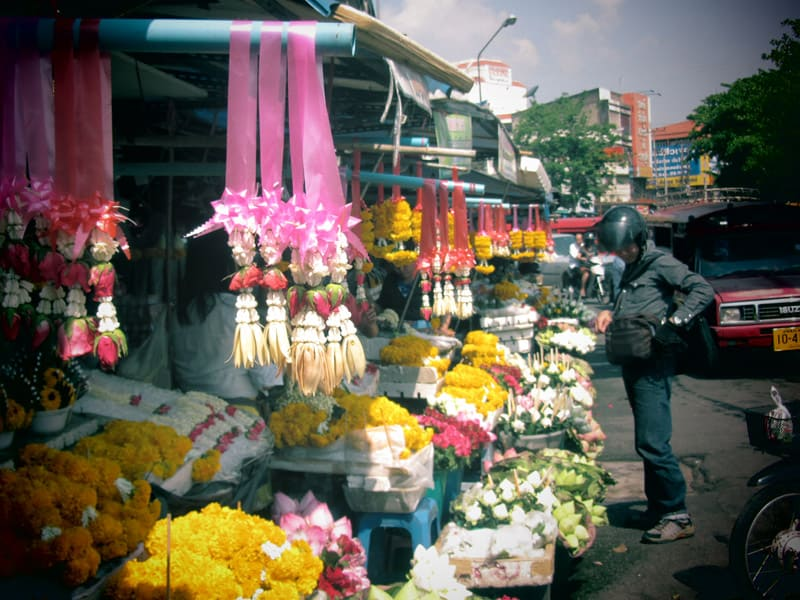 Chiang Mai Flower Market