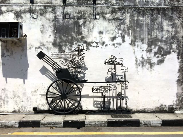 Penang Street Art - Cannon St MGT