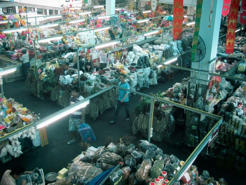 Wororot Market in Chiang Mai