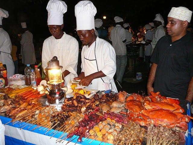 Stone Town Food Market