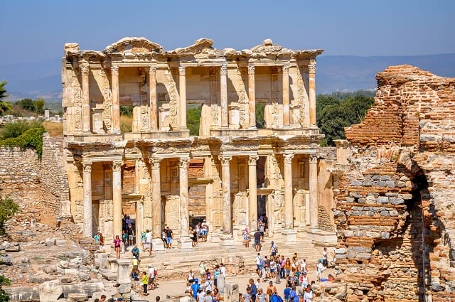 Using your travel rewards credit card to generate manufactured spending will have you seeing places like Ephesus for free.