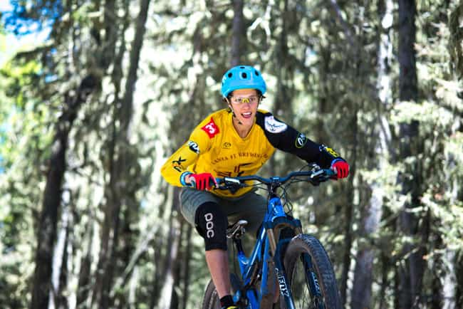 Happy mountain biker (Photo: Terrance Siemon)