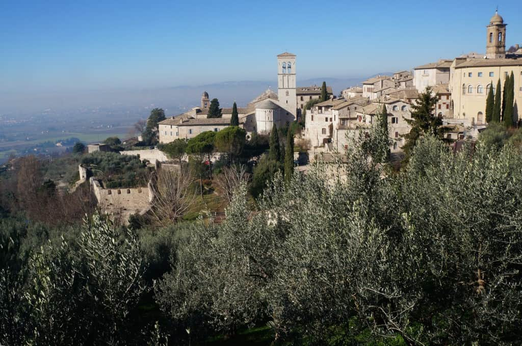 Great hill towns of Italy