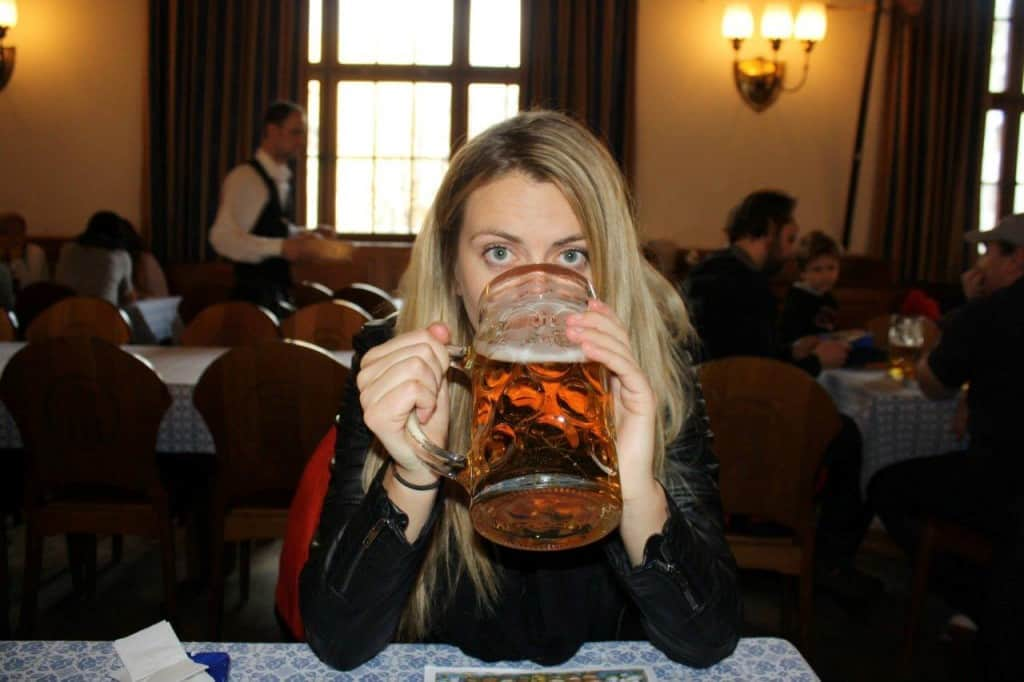 German beer hall