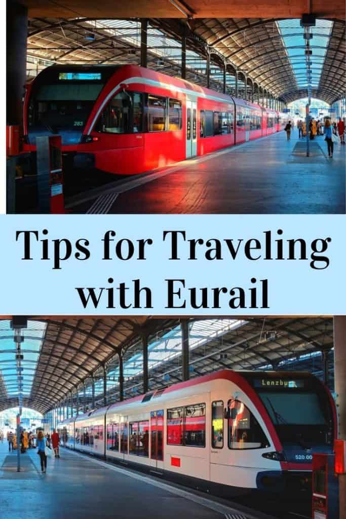 tips for traveling with eurail