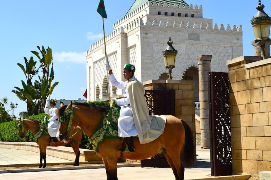Imperial Guards at Rabat