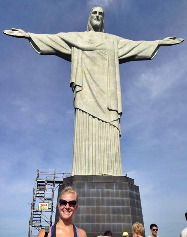 Christ the Redeemer Brazil Selfie