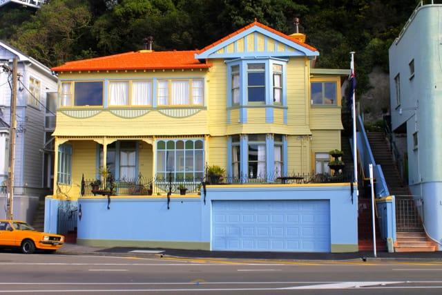 Oriental Bay House on walks around Wellington